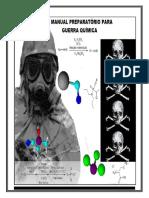 Manual preparatório guerra quimica