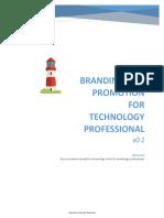 2019-10-20 Branding for Technology Professional v0.1 Scribd