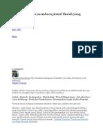 Bagaimana cara membaca jurnal ilmiah yang efektif.docx