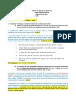 Control #2 DIRECCIÓN DE PERSONAS