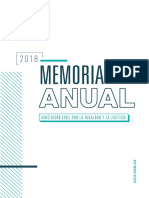 ACIJ - Memoria Anual 2018