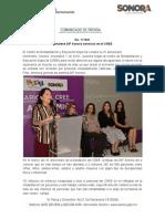 07-11-19 Fortalece DIF Sonora servicios en el CREE