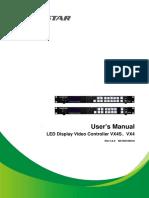 Novastar LED Display Video Controller VX4 Series User's Manual