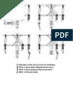 Prática 5 - Abertura de Chaves Com Vento p Direita- Todas as Chaves Fechadas