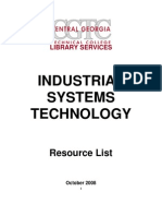 Industrial Systems &Technology-Library Resources-2008