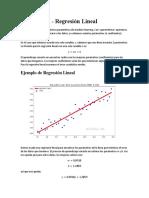 01.1 - Regresión Lineal