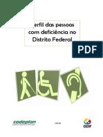 Perfil das Pessoas com Deficiência no DF