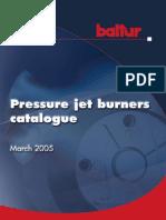 baltur Pressure jet burners