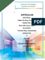Artículos Ddb Priscila
