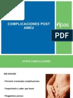 14 Complicaciones Post AMEU