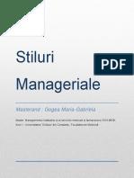 Proiect Managementul operatiilor