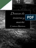 Deseos de Invierno y Muerte (poesía) - Cristiano Martínez (2018) - E-book