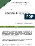 Clase9NEstabilidad de sistemas dinaamicos.ppt