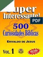 Resumo 500 Curiosidades Biblicas Volume 1 Primeira Versao f066