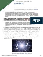 El sencillo universo eléctrico