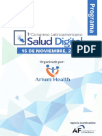 Programa - 1er Congreso Latinoamericano de Salud Digital