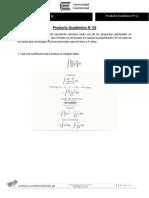 Producto Académico N 02 Cálculo II