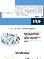 The Essence of Cross-cultural Communication Has More To