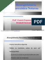 Aula 09 - Hemoglobunúria Paroxística Noturna