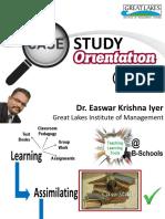 Case Study Orientation