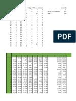 Calculos de Trabajo Multivariante