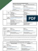 Calendario Practicum 2019-20
