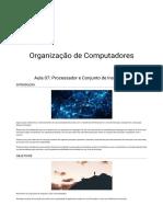Aula 7 organização de computadores