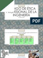 Código de Ética Profesional de La Ingeniería