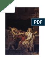 Análisis Visual de Andrómaca Velando a Héctor & Dos Viejos Comiendo Sopa (Neoclasicismo, Romanticismo)