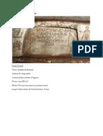 Análisis Visual del epitafio de atimetus, del Sarcófago de Santa Elena, y del Fresco de la lamentación sobre el cuerpo de Cristo (Palecocristiano, Bizantino, y Romano Tardío)
