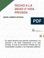 Derecho a La Intimidad 2019 -
