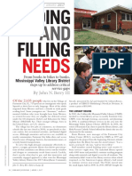 Finding and Filling Needs (Cover Story)