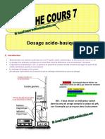 FICHE Dosage Web