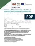 Formulario de postulación Convocatoria AgroecologíaFINAL(1)