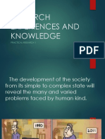 1.Research Experience and Knowledge