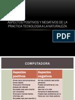 Aspectos Positivos y Negativos de La Practica Tecnologia 2