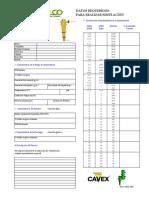 Data Sheet Ciclones