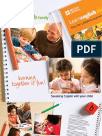 Parents Booklet Speaking English