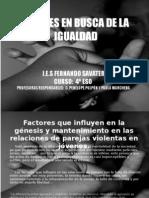 JÓVENES EN BUSCA DE LA IGUALDAD- IES FERNANDO SAVATER 2010