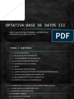 Base de Datos 3 (Optativa)