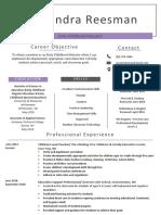 final teacher resume