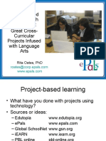 PBL Sample Great Cross-Curricular Projects Infused With Language Arts NCTE10