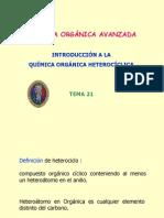 NOMENCLATURA HETEROCICLICA