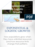 Exponential an Logistic Growth