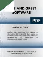 Meet and Greet Software