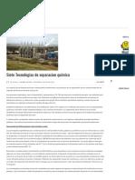 Siete Tecnologias de Separacion Quimica - Alemania
