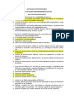 Reactivos de Diseño de Proyectos (2do Parcial) Reglamento