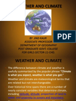 Weather and Climate-climatic Elements and Controls