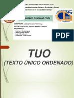 Texto Unico Ordenado – Perú
