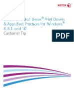 Install-Uninstall Xerox Print Drivers